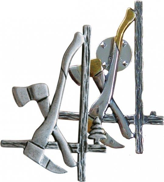 Holzer - Pin Silber