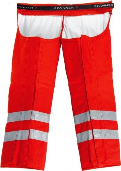 Schnittschutz Beinlinge Rot EN 471
