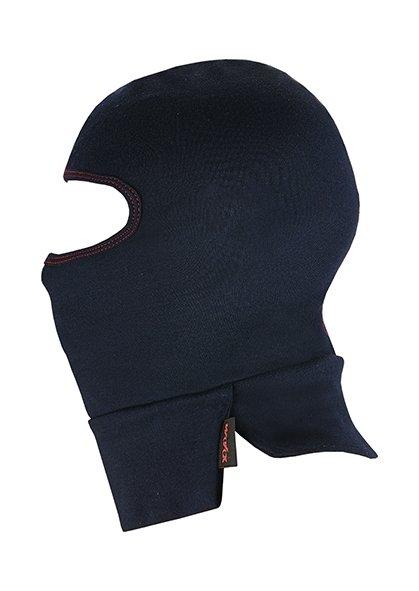 Kopfschutzhaube mit verlängertem Brust u. Rückenteil 2 lagig