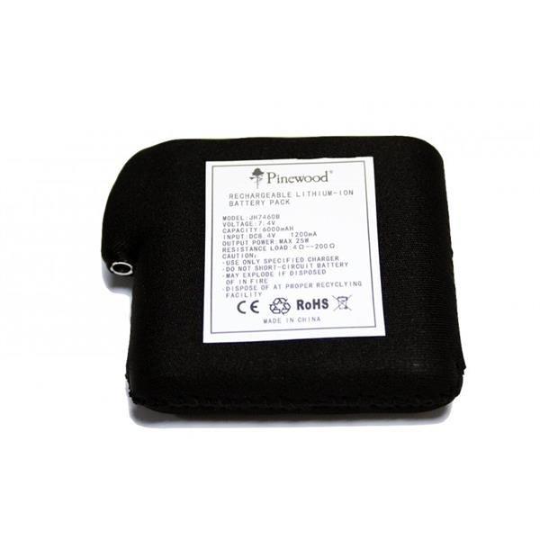 Extra Batterie 6000mAh für Pinewood Heizweste