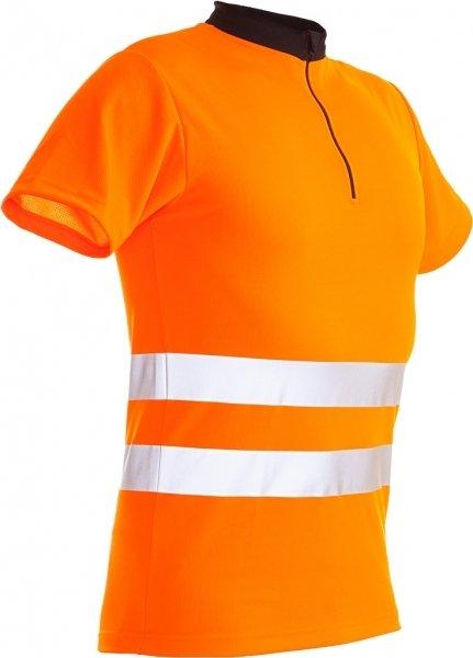 Zipp Neck Shirt kurzarm EN471